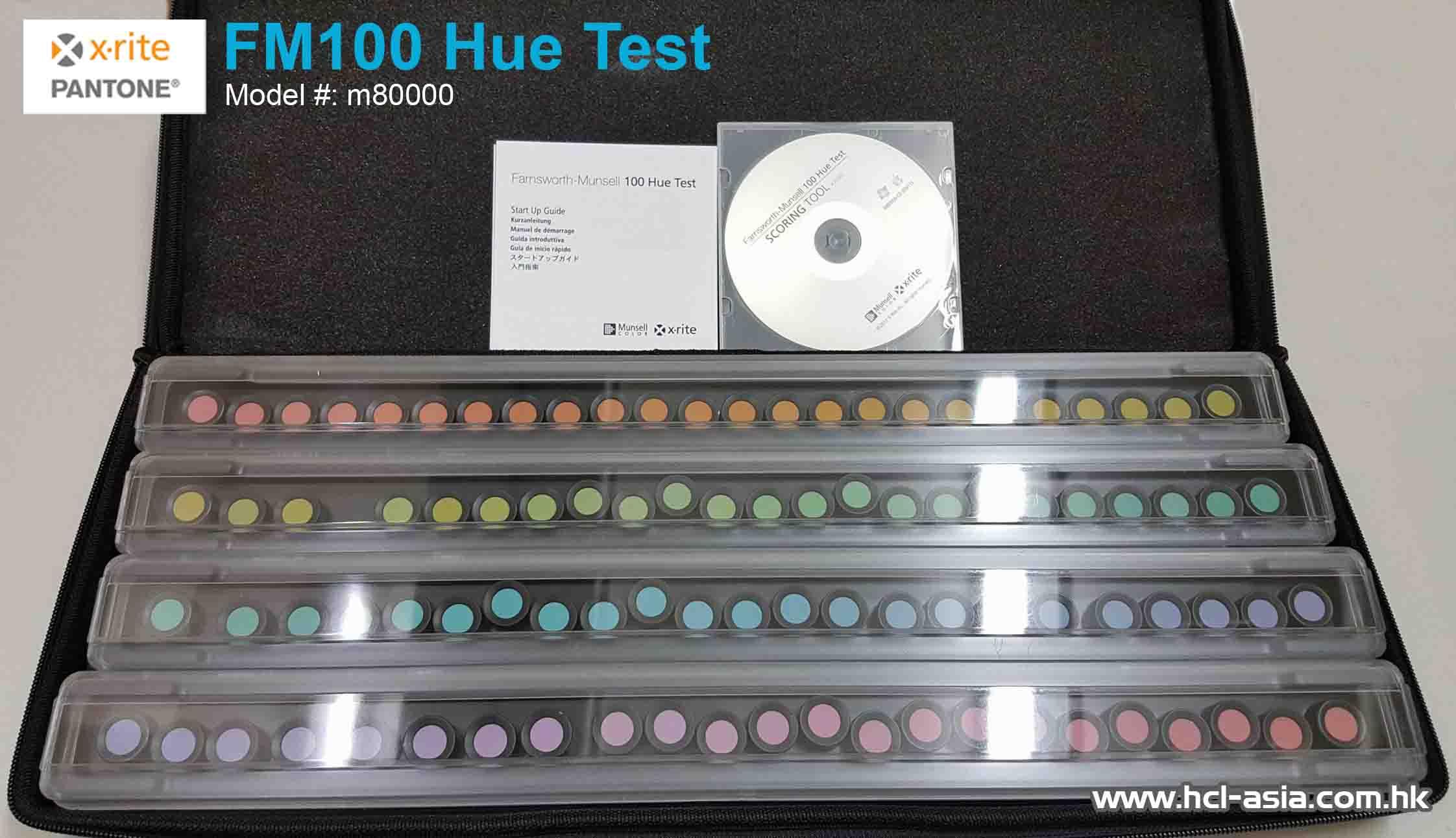 farnsworth munsell 100 hue test